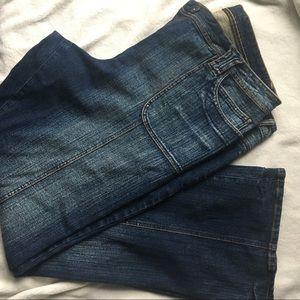 Plus Size Retro Bootleg jeans